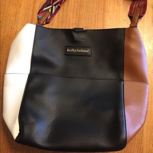 Kathy ireland shoulder zip bag large shoulder